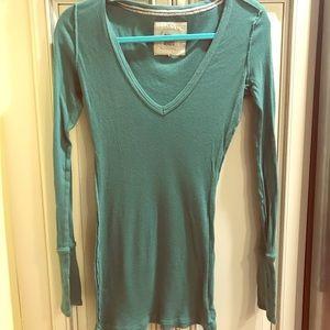 Ruehl No. 925 Long Sleeved Knit Shirt size L